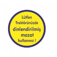 Etiket Dinlendirilmiş Mazot