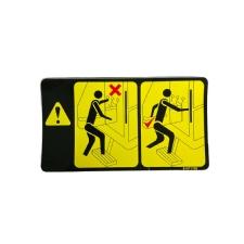 Etiket Sürücü Uyarı TT-TD Serisi