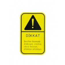 Etiket Direksiyon Simit Uyarı TT-TD Serisi