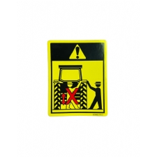 Etiket Hidrolik Kol Uyarı TT-TD Serisi